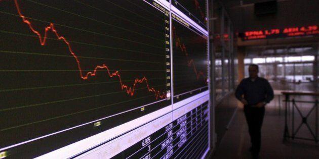 Borse europee, Grecia e Ucraina spaventano i mercati. Atene chiude -4,75%, ma tutti i listini