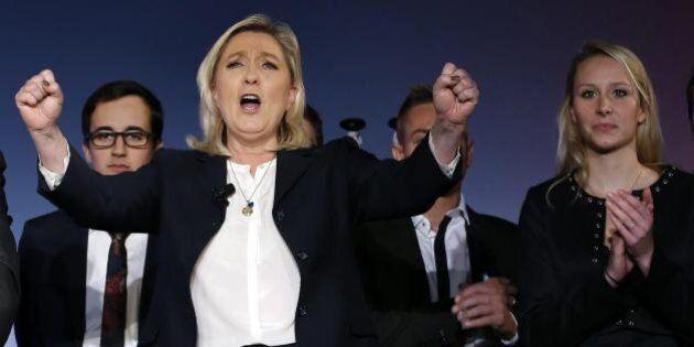 Marine Le Pen verso un trionfo alle regionali francesi. Front National in testa ai