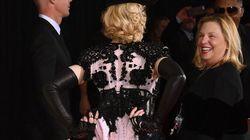 Madonna trasgressiva sul red carpet