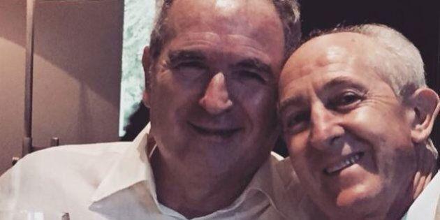 Lamberto Sposini torna su Instagram insieme al medico che lo ha salvato dall'emorragia cerebrale.