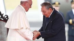 Papa Francesco a Cuba monito gli
