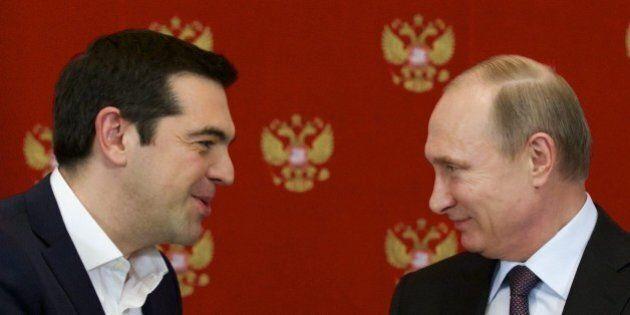 Grecia nell'orbita russa. Siglato accordo per gasdotto e Mosca non esclude l'invio di aiuti economici...