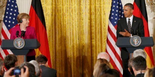 Ucraina, Barack Obama e Angela Merkel alla Casa Bianca. Il presidente Usa: