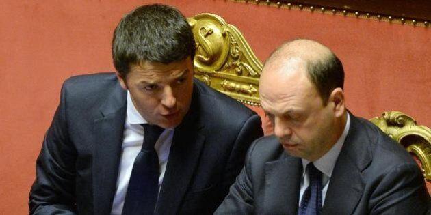 Matteo Renzi vede Angelino Alfano. E ora la mission è: tenere insieme la maggioranza sulle