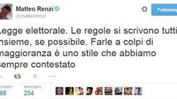 Quando Renzi twittava: