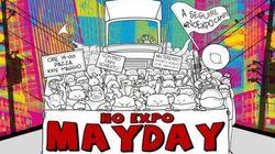 No Expo, perquisizioni e sequestri. Tensione alle stelle per le