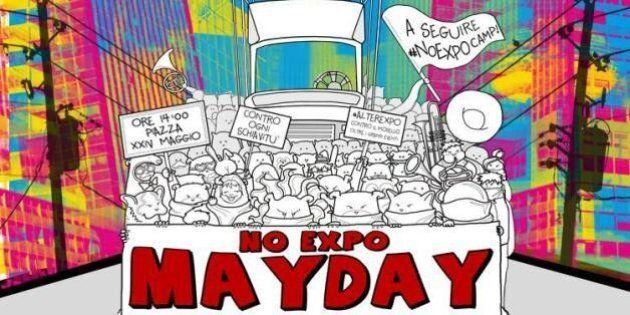 No Expo: perquisizioni e sequestri, identificati antagonisti stranieri. Tensione alle stelle per le