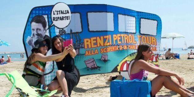 Petrolio. Matteo Renzi vuole evitare il referendum no triv: mandato alla Guidi per rivedere lo Sblocca