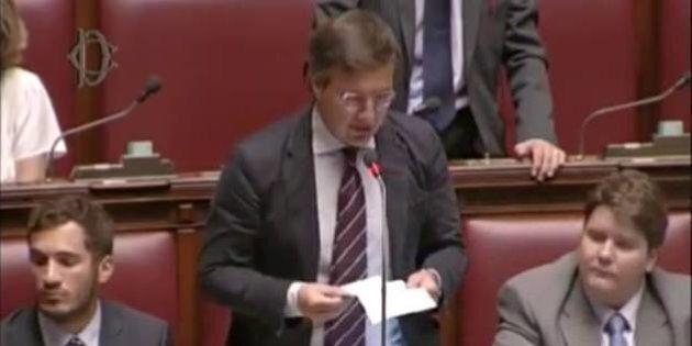 Giuseppe Lauricella, non vota l'Italicum: