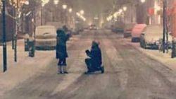 Ritrovano la foto della proposta di matrimonio grazie al