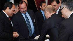 Cena quasi romantica e scambio di doni. Putin regala ad al Sisi un