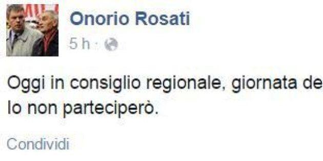Foibe, Onorio Rosati, consigliere Pd della Lombardia: