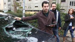 Dieci denunciati per l'assalto all'auto di Salvini