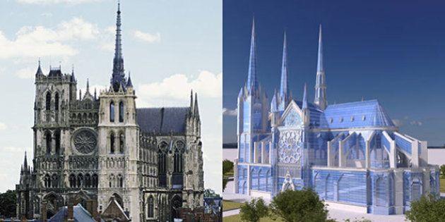 Notre Dame de Paris, come sarebbe la cattedrale se fosse stata costruita nel XXI secolo? Il progetto...