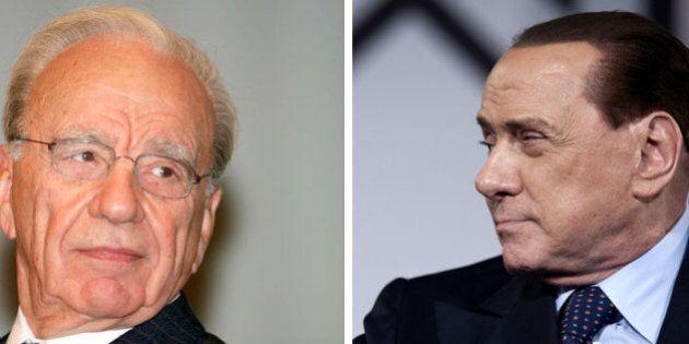 Incontro Silvio Berlusconi Rupert Murdoch, Pier Silvio conferma. Per Mf si studia possibile integrazione...
