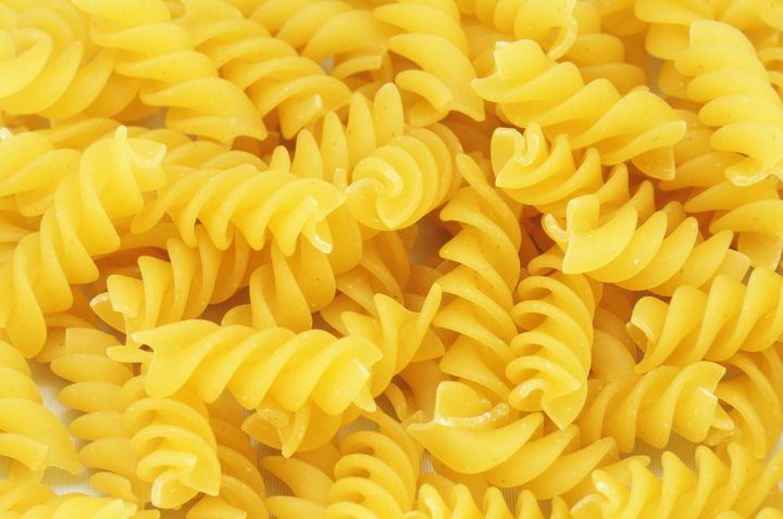 yellow fusilli