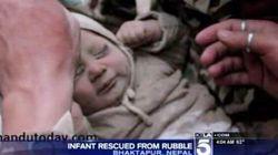 Nepal, bambino di 4 mesi vivo dopo 22 ore sotto le macerie