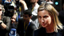 Federica Mogherini adotta la linea Onu: