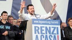 Salvini, fenomenologia della ruspa e del