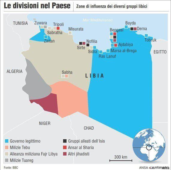 Libia: fallito il piano A, si pensa a dividere il Paese in tre parti