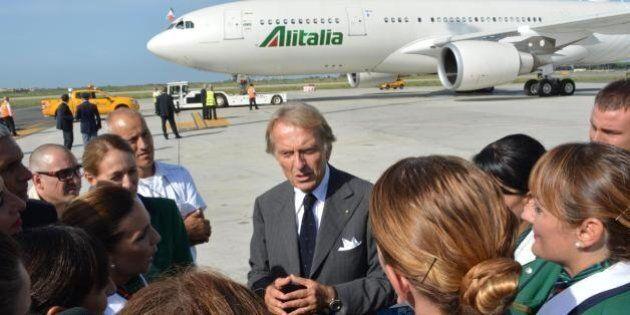 Alitalia. Luca Cordero di Montezemolo:
