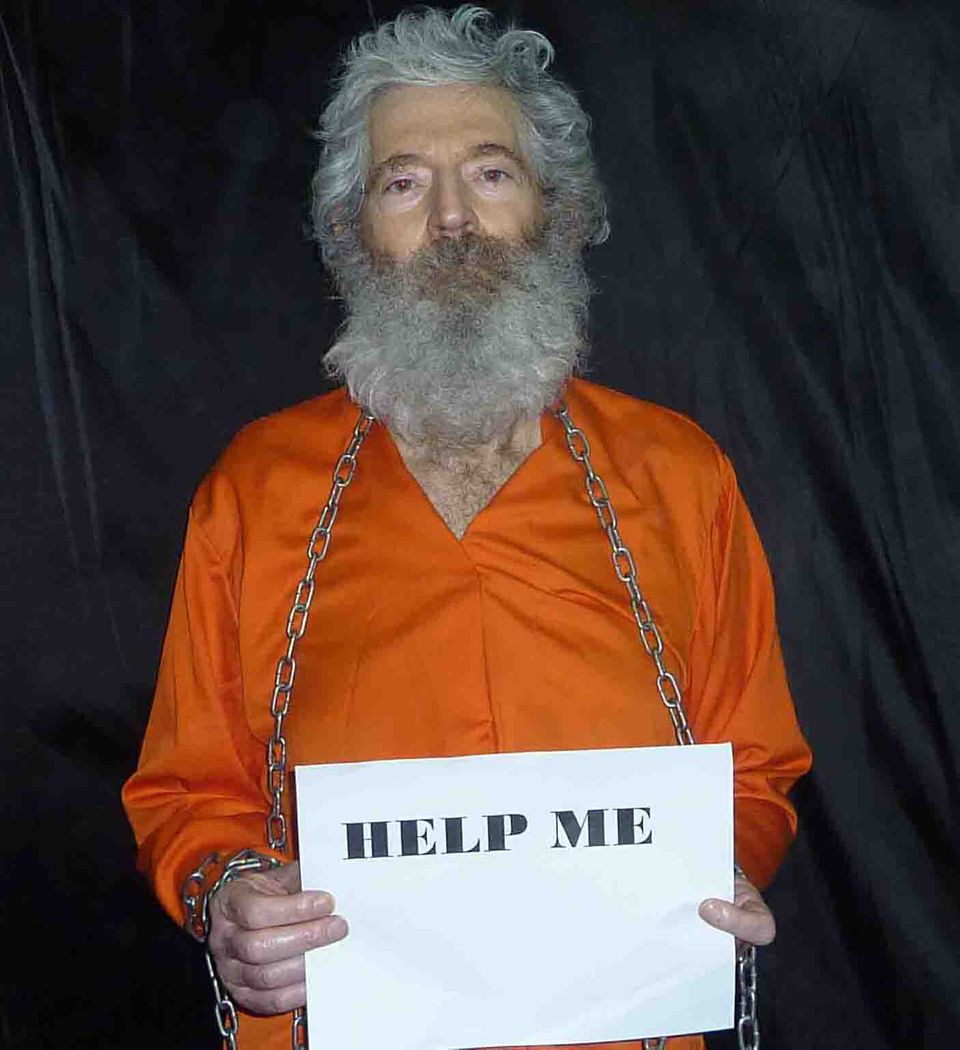This undated handout photo provided by the family of Robert Levinson, shows retired-FBI agent Robert Levinson. Levinson, 64,