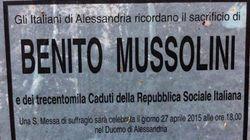 Alessandria batte Reggio Calabria. E celebra Mussolini con una