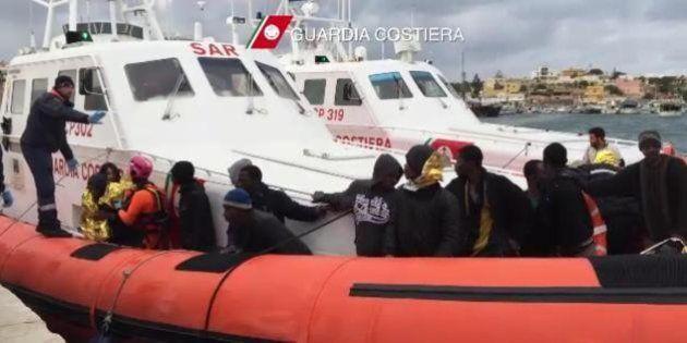 Lampedusa, Unhcr:
