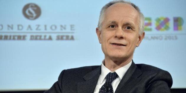 Luciano Fontana, nuovo direttore del Corriere della Sera. Prende il posto di Ferruccio De