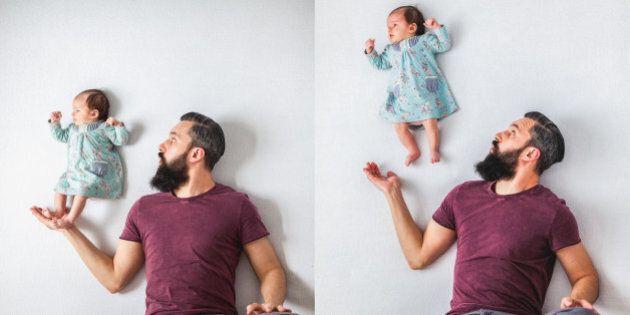 Le foto di questo neonato sono scattate senza ricorrere a photoshop, vedere per credere