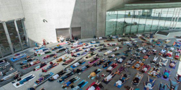 Meditazione al Maxxi per la giornata internazionale dello Yoga. Appuntamento per una lezione di Ananda...
