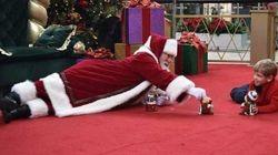 Questo Babbo Natale ha regalato a un bambino autistico un momento