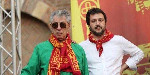 Lega, Matteo Salvini a Pontida per