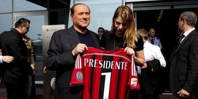 Milan, Silvio Berlusconi dopo l'incontro con Bee Taechaubol:
