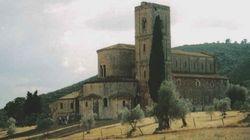 La via invisibile dentro l'abbazia di