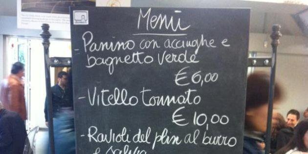 Expo come Via Montepoleone. Prezzi da record per mangiare tra i