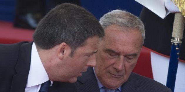 Pietro Grasso e il grande gelo con Matteo Renzi: