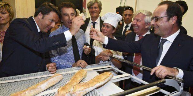 Immigrazione, Expo scioglie il ghiaccio tra Renzi e Hollande, ma ora il premier teme: piano Juncker da