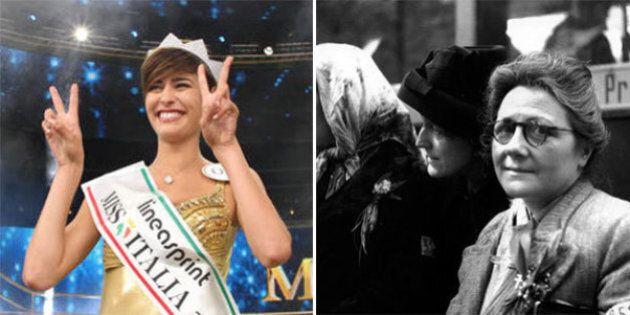 Cara Miss Italia, voglio raccontarti la storia di mia nonna. Lei la guerra l'ha fatta,