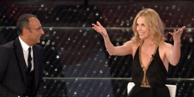 Sanremo 2015: seconda serata. I giovani in gara, 10 big e gli ospiti internazionali: Charlize Theron...