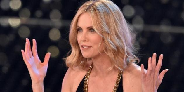 Charlize Theron a Sanremo 2015: