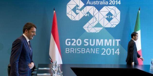 Matteo Renzi al G20: