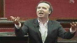 Benigni show in Senato: