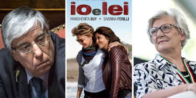 Al cinema Sabrina Ferilli e Margherita Buy, in Parlamento Giovanardi e