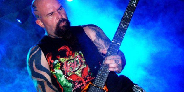 Show do Slayer em BH / 2006. Foto por Suelen