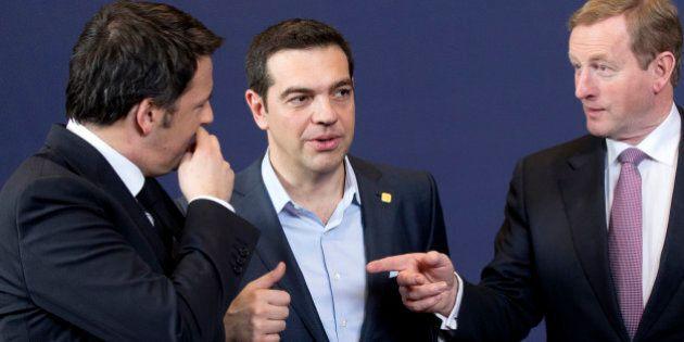 E l'effetto Tsipras mette in ombra Matteo Renzi al Consiglio