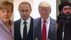 Al Baghdadi - Trump - Merkel - Putin. I Fantastici 4 del