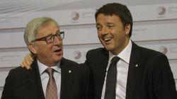 Renzi e Juncker, domani a Roma l'incontro della