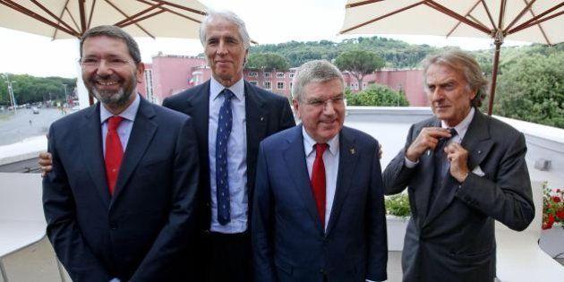 Roma 2024 olimpiadi, vertice in Campidoglio del comitato. Montezemolo: