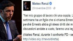 Quando Renzi prometteva al piccolo Ernesto: